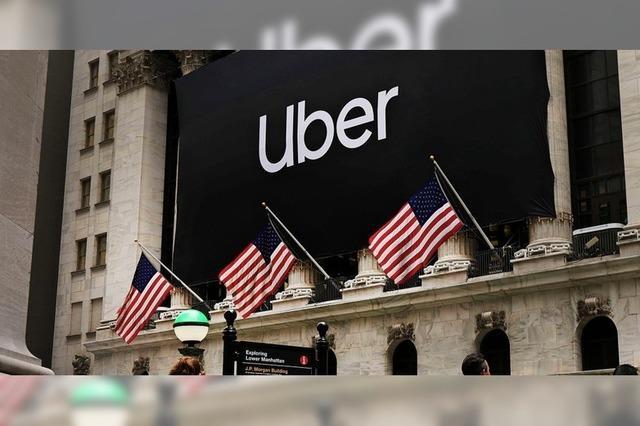 Interesse an Uber schäumt nicht über