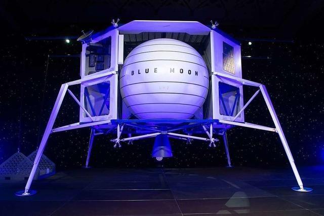 Amazon-Chef Bezos stellt Mondlanderprojekt