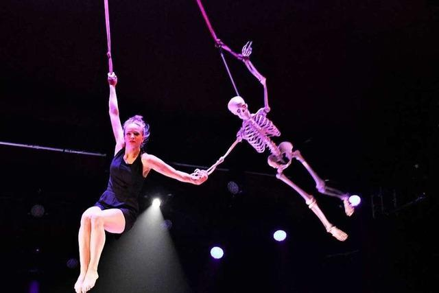 Elftes Internationales Circus Festival Young Stage in Basel