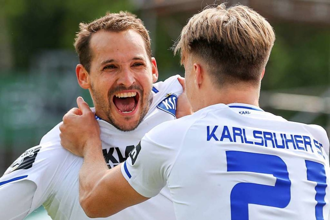 Mit einem Sieg beim SC Preußen Münster... in die 2. Bundesliga perfekt gemacht.    Foto: dpa