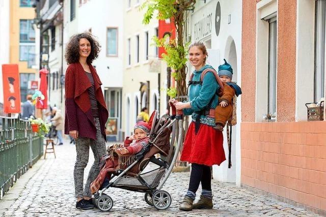 Eine Elterninitiative macht sich für eine Geburtswohnung in Freiburg stark
