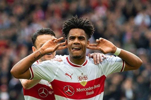 VfB Stuttgart gewinnt und sichert sich den Relegationsplatz