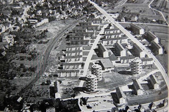 Wie die berühmten Fünfeckhäuser in Lahr entstanden sind