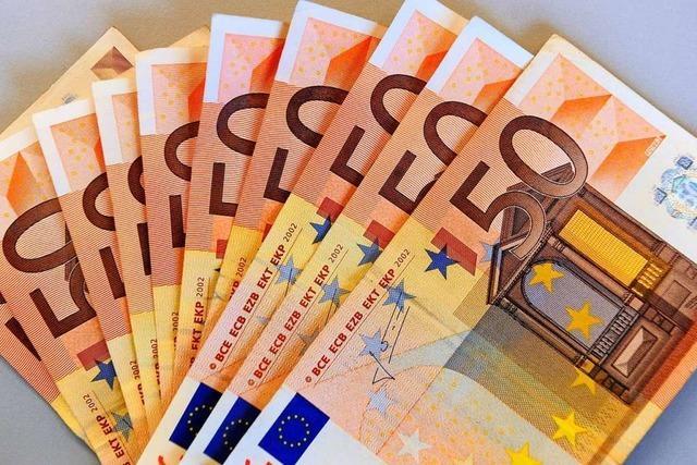 Zöllner erwischen Rentner mit 114.400 Euro am Weiler Grenzübergang