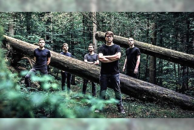 Die Bands Burning Nations, Suicidius und Rivershore in Emmendingen