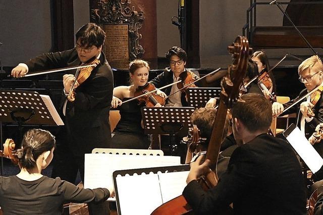 Natalia Dauer und das Young Eurasian Soloists Kammerorchester