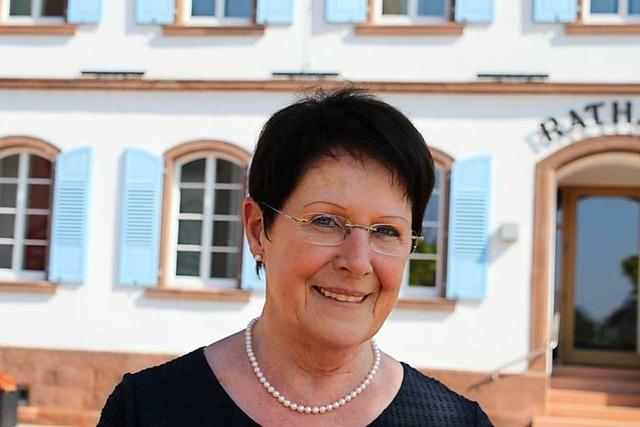 Für Christa Mutz ist nach 20 Jahren im Ringsheimer Gemeinderat Schluss