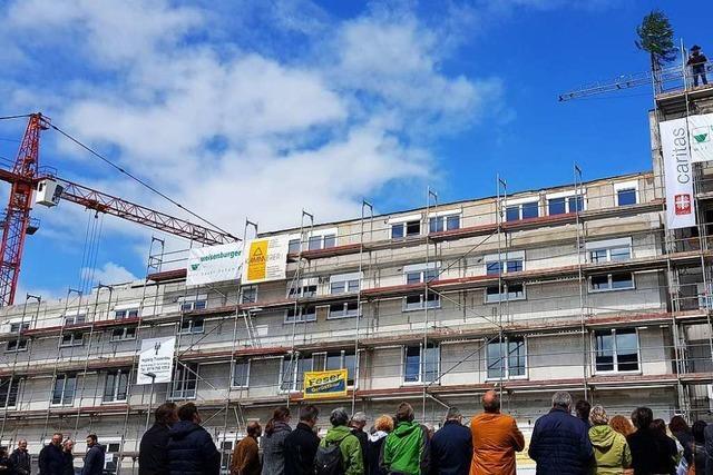 Das Seniorenzentrum in Umkirch nimmt Form an