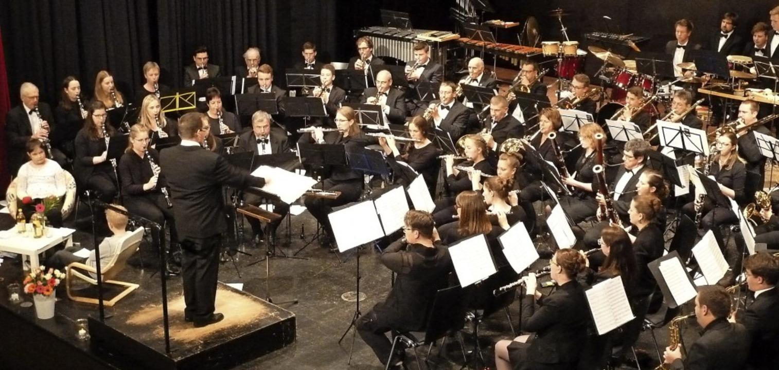 Musik von Abba und Billy Joel, dazu  P...skonzert etwas Besonderes ausgedacht.   | Foto: Heidrun Simoneit