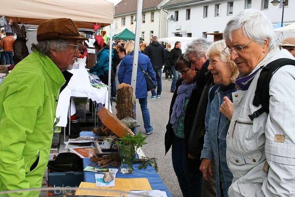 Impressionen vom Naturparkmarkt mit verkaufsoffenem Sonntag in Görwihl
