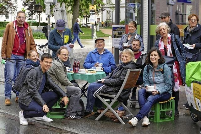 Wahlkampf: Grüne führen Beispiel Grabenstraße an