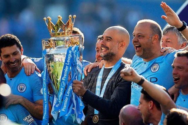 Manchester City ist zum sechsten Mal englischer Fußballmeister