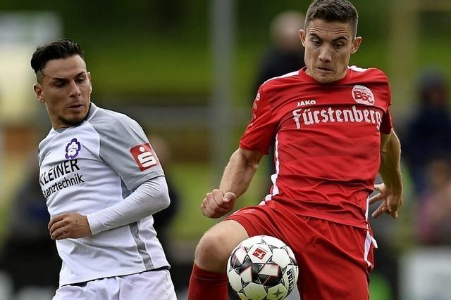 Rico Wehrle auf dem Weg in die Regionalliga