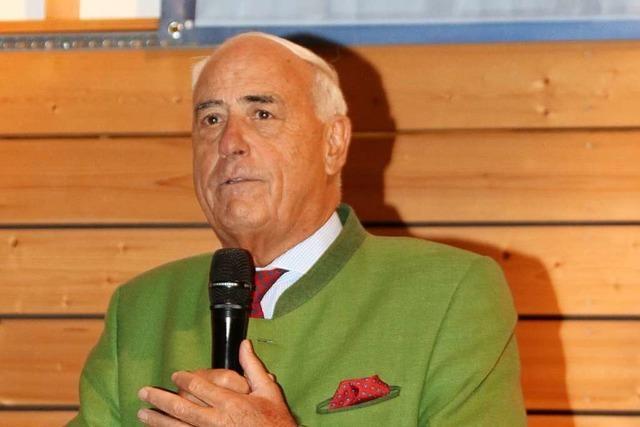 Gundolf Fleischer als Präsident des Badischen Sportbundes Freiburg bestätigt