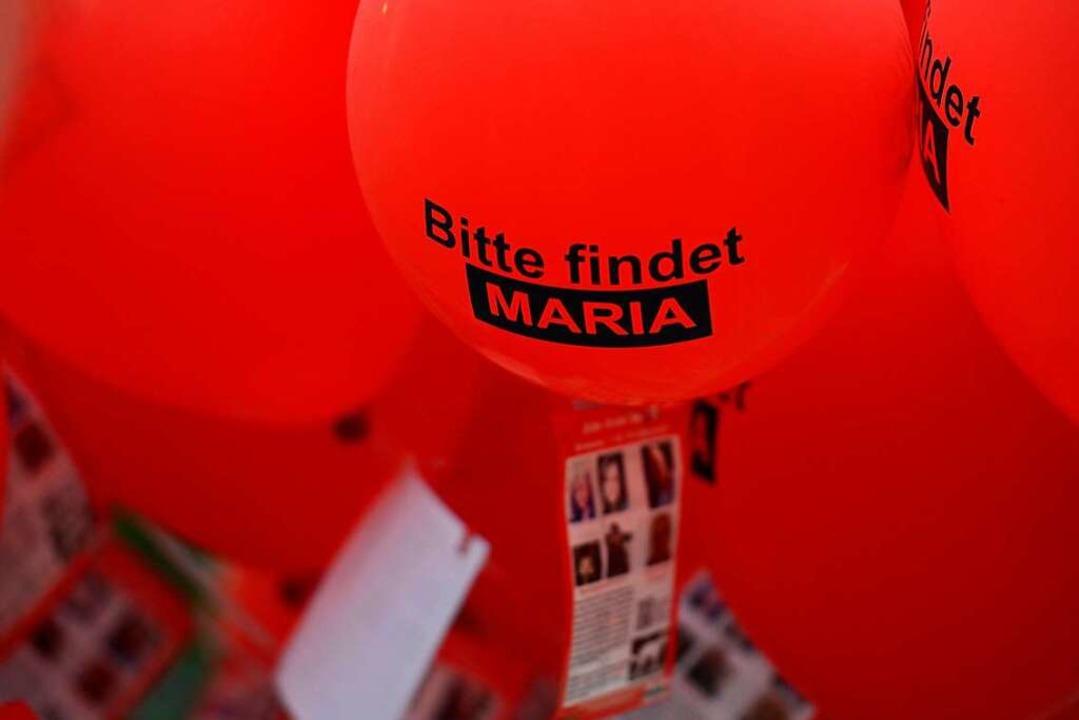 Nach Maria war jahrelang gesucht worden.  | Foto: Ingo Schneider