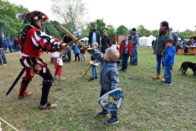 Mundenhof-Besucher erleben Handwerk und Leben wie vor 1000 Jahren