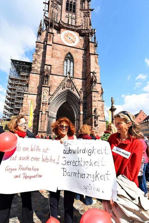 Austritt ist keine Option, die Frauen wollen Veränderung.  | Foto: Rita Eggstein