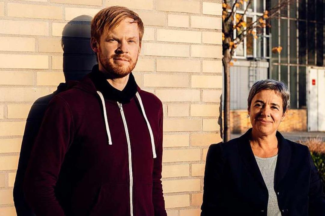 Martin Winter und Tanja Paulitz haben ...e Ernährung das Bild des Mannes prägt.  | Foto: Katrin Binner/TU Darmstadt