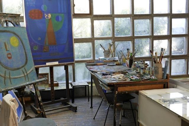 Atelier einer Kulturpreisträgerfamilie