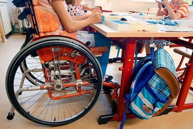 Lehrer fühlen sich mit behinderten Kindern alleingelassen