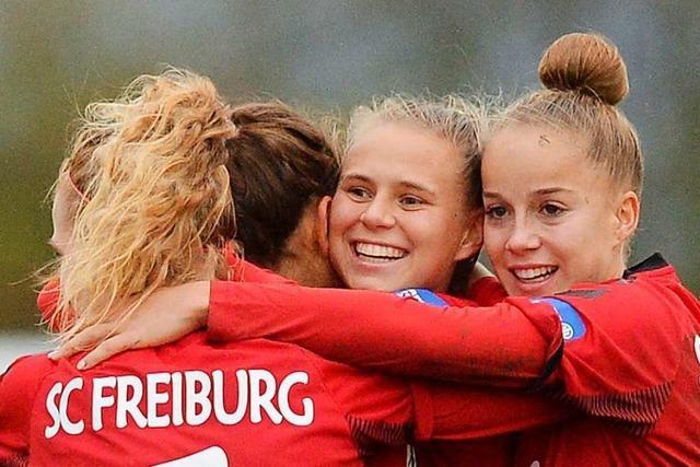 WM in Frankreich mit drei Spielerinnen des SC Freiburg?