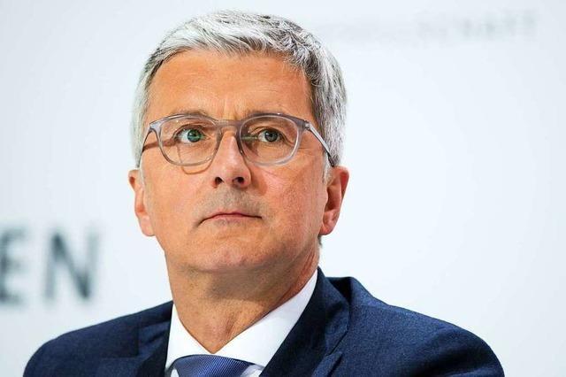 Audi-Chef war zu Recht in Haft