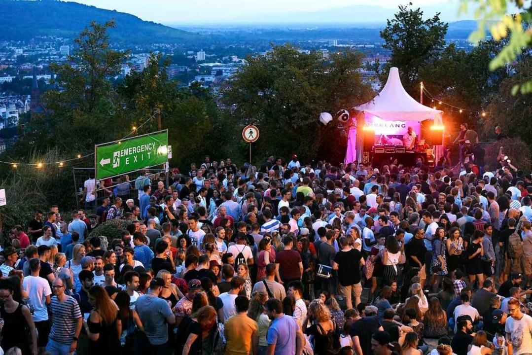 Das Schlossbergfest gehöre zu Freiburg...ttfinden, so Freiburgs OB Martin Horn.  | Foto: Thomas Kunz