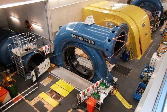 Das Säckinger Kraftwerk wird wieder fit gemacht