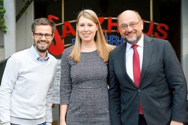 Viel Pathos, wenig Analyse: Martin Schulz sprach im Jazzhaus über Europa