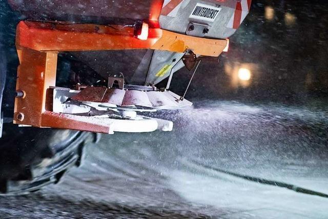 Streudienst brachte von Oktober bis Mai 2850 Tonnen Salz auf die Straßen im Kreis