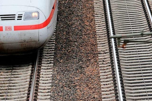 Rheintalstrecke bei Riegel nach zweistündiger Sperrung wieder frei