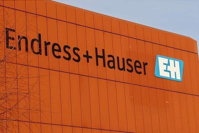 Endress+Hauser steigert Gewinn um mehr als 30 Prozent
