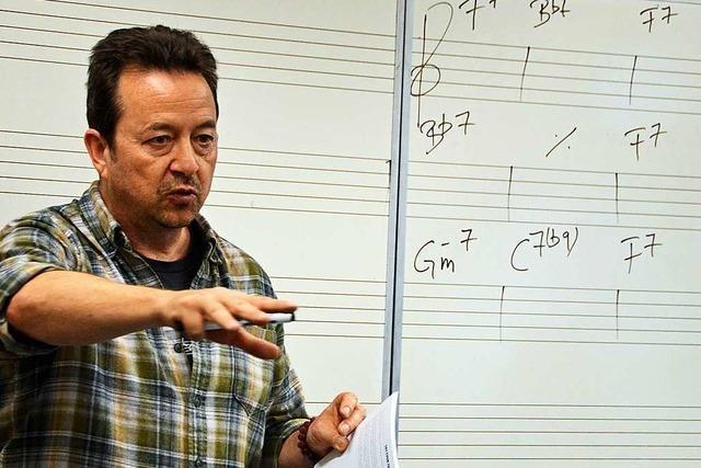 In Kirchzarten konnte man mit einem Grammy-Gewinner musizieren