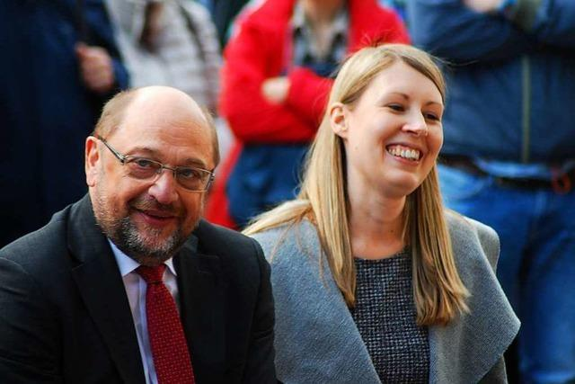 Martin Schulz ruft in Lörrach dazu auf, Demokratie und europäische Werte zu verteidigen