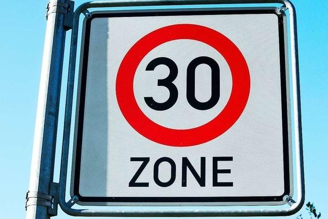 Gemeinderat will drei Tempo-30-Zonen für Horben