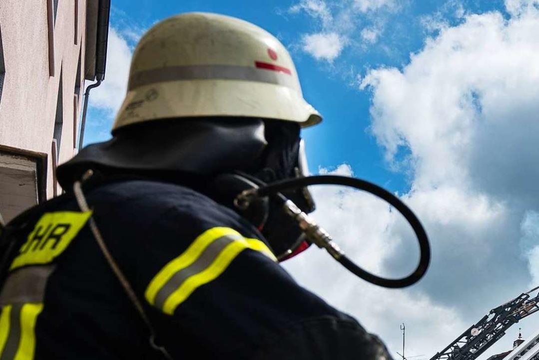 Die Feuerwehr rückte am Dienstag aus (Symbolbild).    Foto: dpa