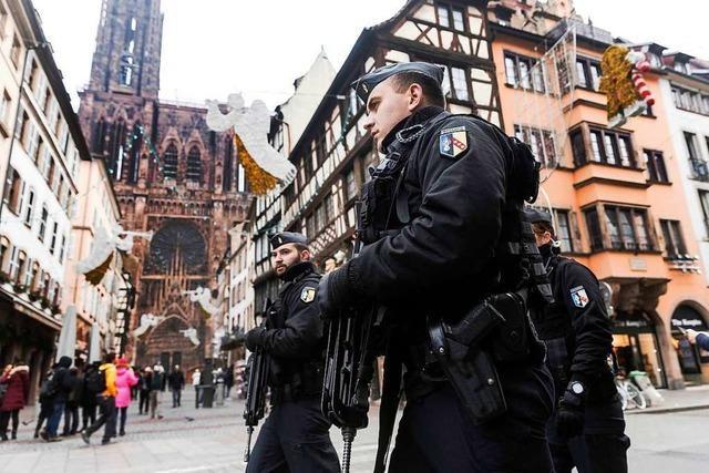 Fünf Festnahmen im Zusammenhang mit Anschlag in Straßburg