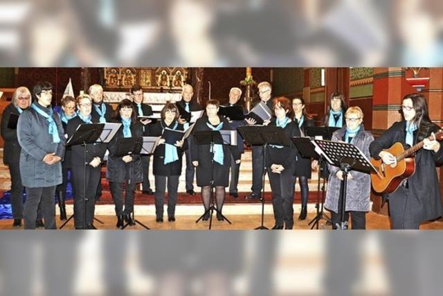 Chor sendet die Botschaft