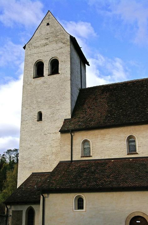 Die Sulzburger Kirche St. Cyriak bilde...vollen für das Konzert der Stadtmusik.    Foto: Martin Pfefferle