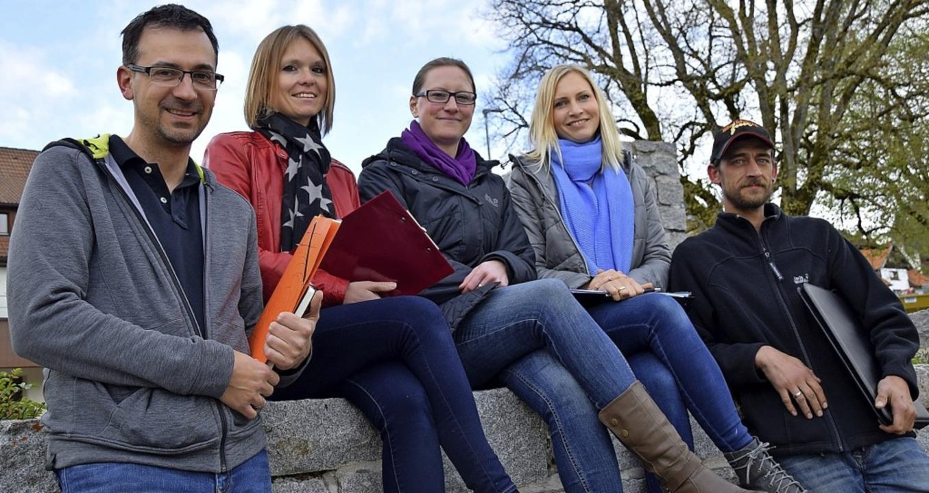 Möchten mit dem von ihnen organisierte...Habel,Yvonne Eckert und Stefan Dröse    | Foto: Hildegard Siebold