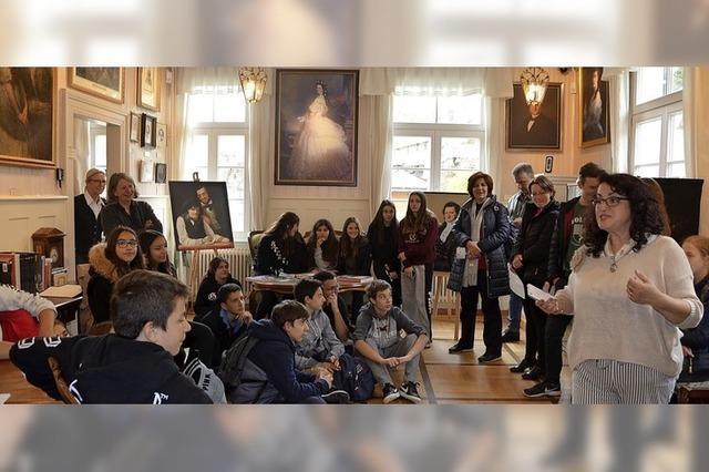 Junge Griechen entdecken Malerbrüder
