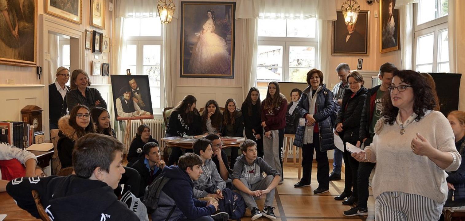 So voll ist das Winterhaltermuseum sel...hts) hatten sich im Museum versammelt.  | Foto: Christiane Sahli