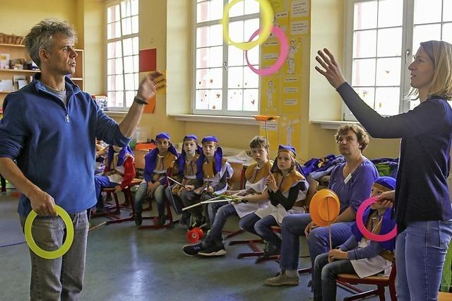 Grundschule macht Zirkus