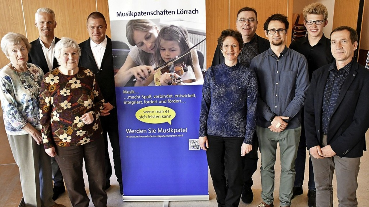 Großzügige Stifter: Erika und Irmgard Riehle (links)   | Foto: Barbara Ruda