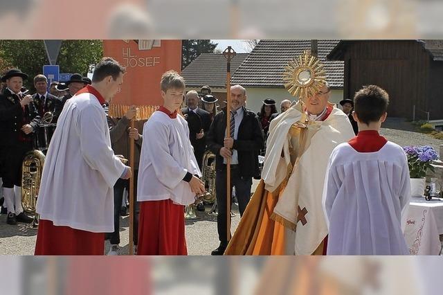 Prozession zum Josefstag