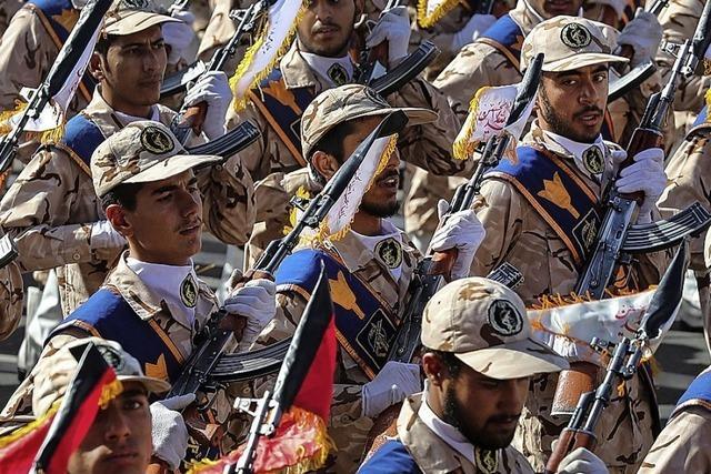 Militärisch gehört der Iran zu den Schwergewichten