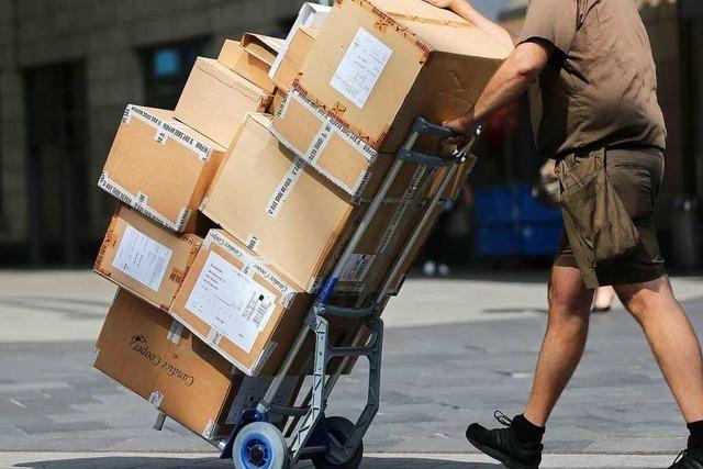 Koalition will Arbeitsbedingungen für Paketboten verbessern
