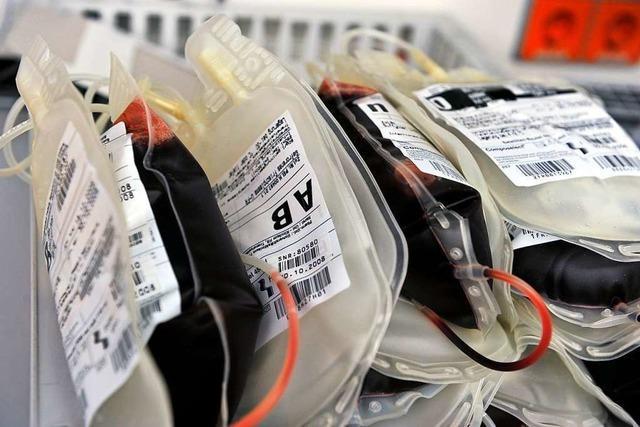 Stegener hat 100 Mal Blut gespendet und begegnet damit einem bedenklichen Trend