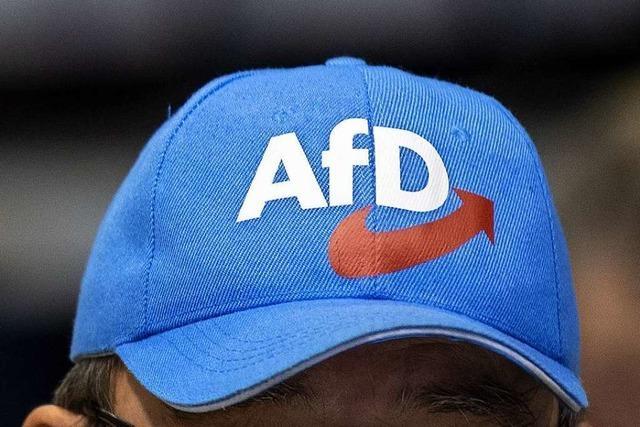Angriff auf Wahlinfostand der AfD in Emmendingen