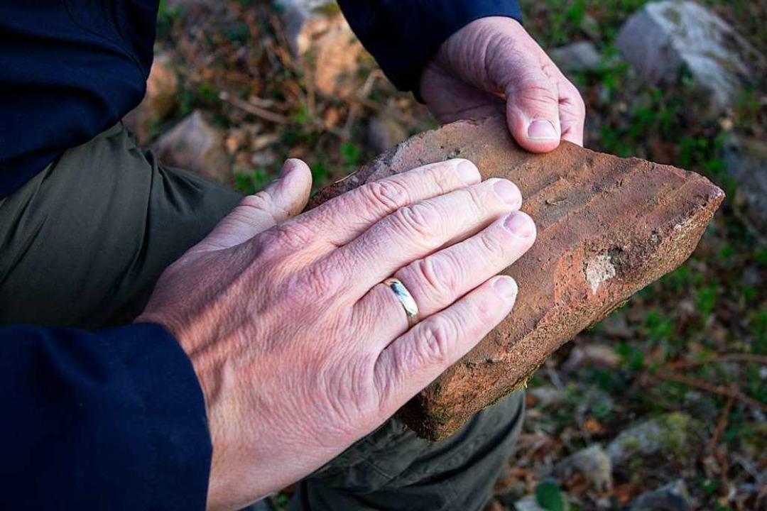 Ein alter Ziegelstein  | Foto: Patrik Müller